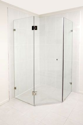 Frameless Shower Screen. I adore frameless showers after living overseas. They're so practical and classy.