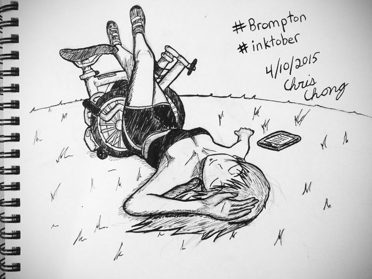 Brompton in the park by ChongComics