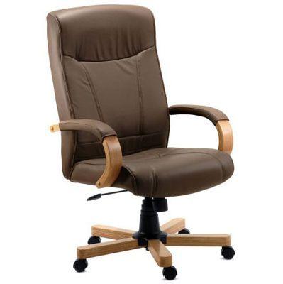Richmond Brown Executive Leather Armchair