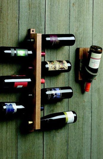 Awesome Aged Hickory Wine Rack