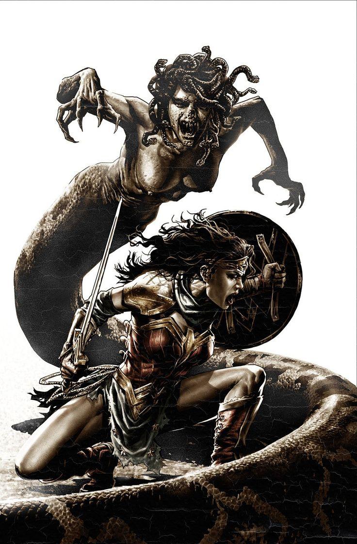 """xombiedirge: """" Wonder Woman by Lee Bermejo / Twitter """""""