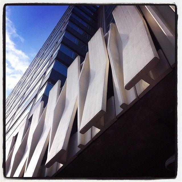 Concrete Facade - Dingwall Road Croydon