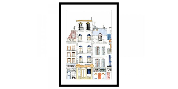 Artwork - Parisian Shops Interiors
