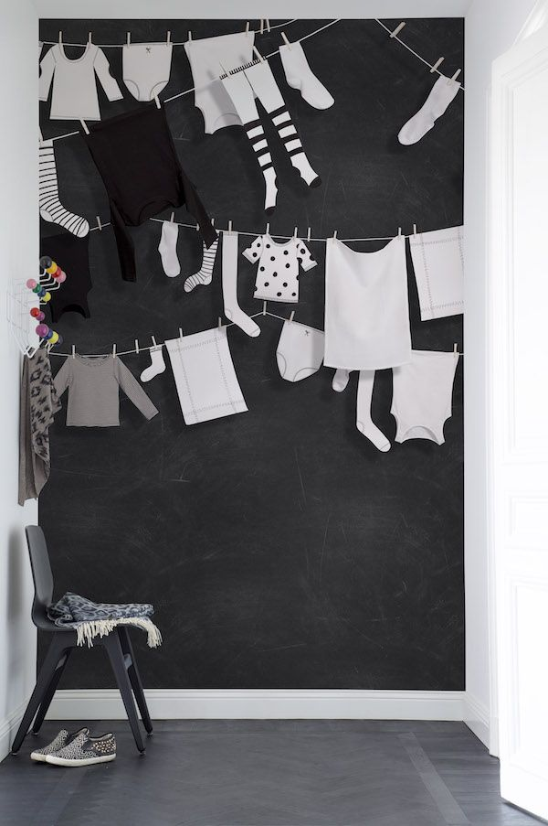 Behang van Rebel Walls #babykamer #kinderkamer #hal