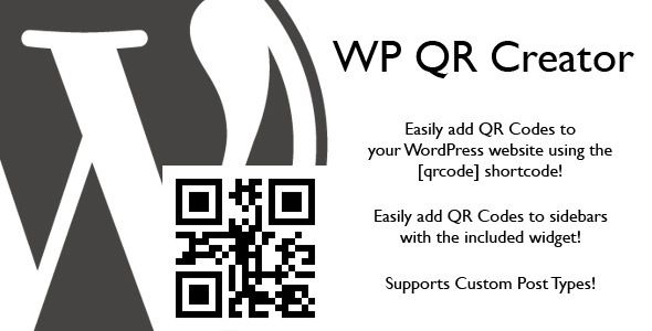 WP QR Creator . What is a QR Code?QR or Quick Response Codes are a type of two-dimensional barcode that can be read using smartphones and dedicated QR reading