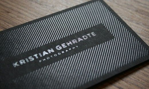 30 Stunning Examples of Spot UV Printed Business Cards - 18 - Pelfind