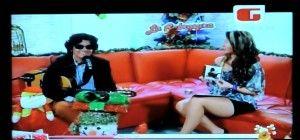 Realice entrevista en vivo en Canal Mi Gente TV. Diciembre 2012. Aquí con la Periodista Paola Acevedo.