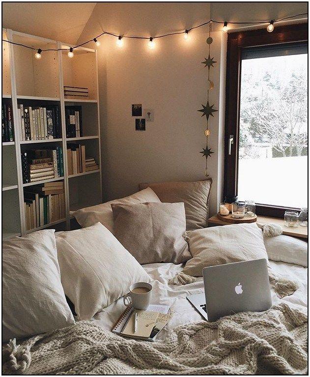 134 Cozy Bedroom Decoration Idea On Budget 47 Aesthetic Bedroom Bedroom Design Dream Rooms