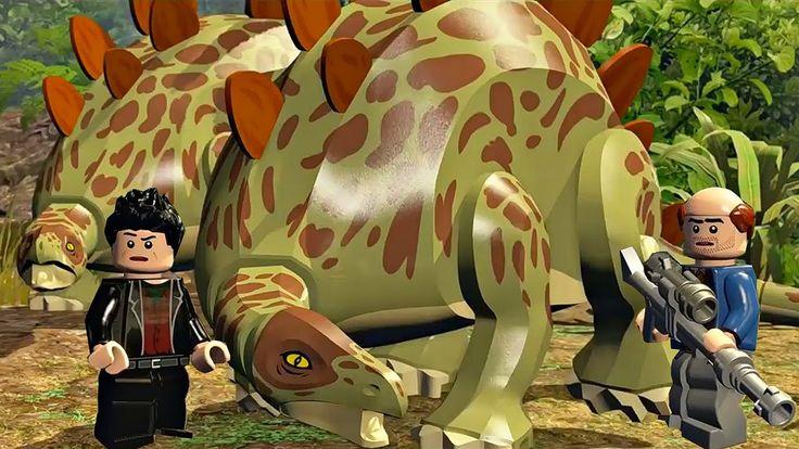 Лего Мир Юрского.Периода Доставка.Груза Игры и Мультики про Динозавров.L...