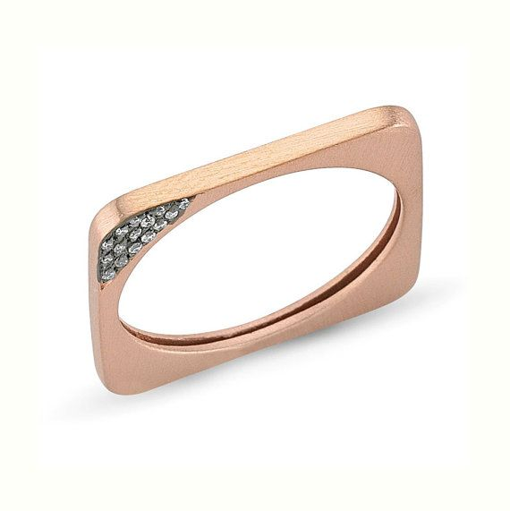 Circle meets square. #etsyjewelry