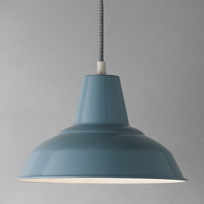 This timless light is brought to life by its pastel colour