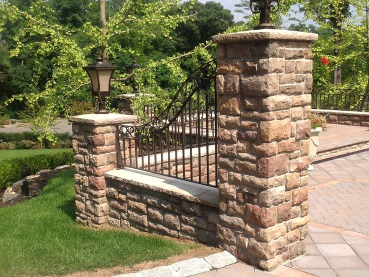 Make Your Home Your Castle With Brick And Wrought Iron