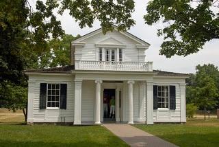 Poet Robert Frost's home, built in 1835 in Ann Arbor Michigan.