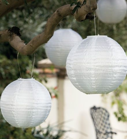 Solar Shoji Lanterns: Hang This Japanese Inspired Solar Powered Lantern  From A Trellis Or Tree And Enjoy Its Moonlike Radiance.