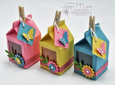 Splotch Design - Jacquii McLeay Independent Stampin' Up! Demonstrator: Children's Birthday Parties