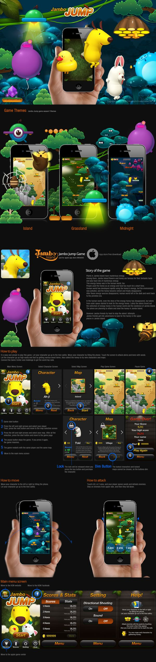 Jambo Jump _ iPhone Game on the Behance Network