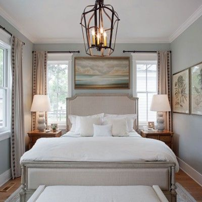 SL Inspired Home at Habersham: The Master Bedroom