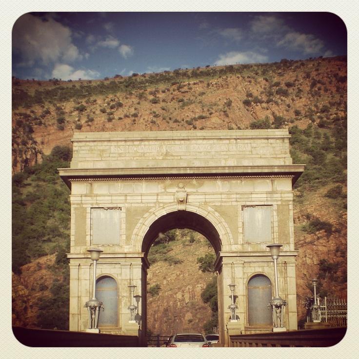 'Arc de Triomphe' on the Hartebeespoort Dam South Africa