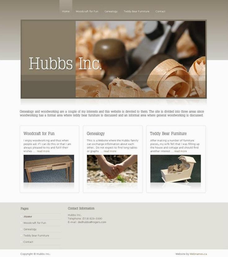See the full website at www.hubbsinc.ca