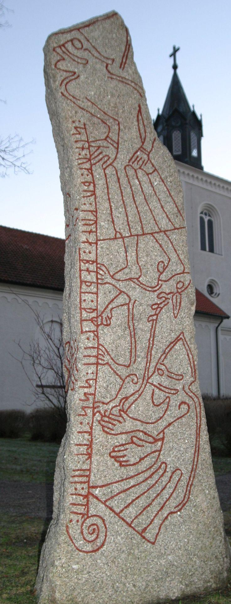 The Ledberg Runestone...THE ORIGINS OF RUNES