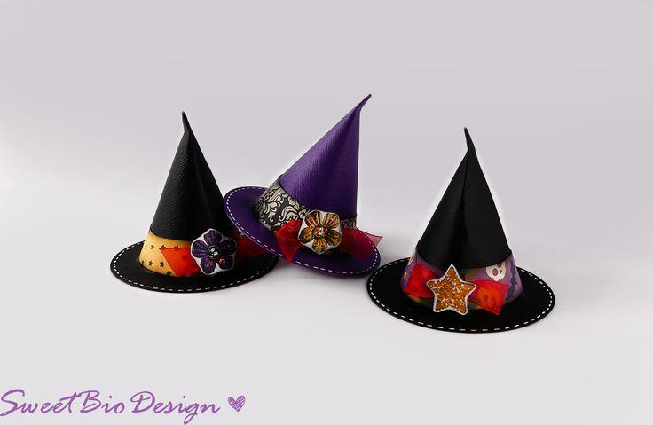 Sweet Bio design: Tutorial: Cappello da strega di Halloween - Halloween Witch Hat DIY