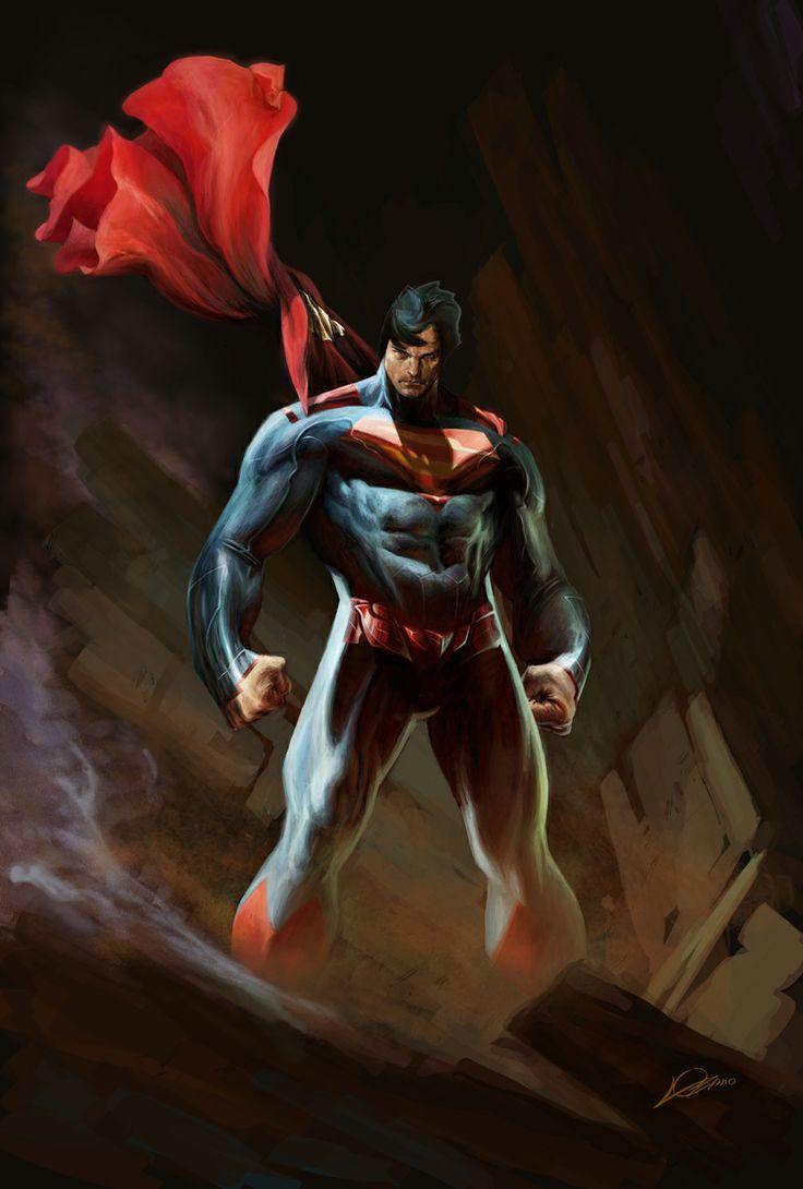 Superman by Alexander Lozano *