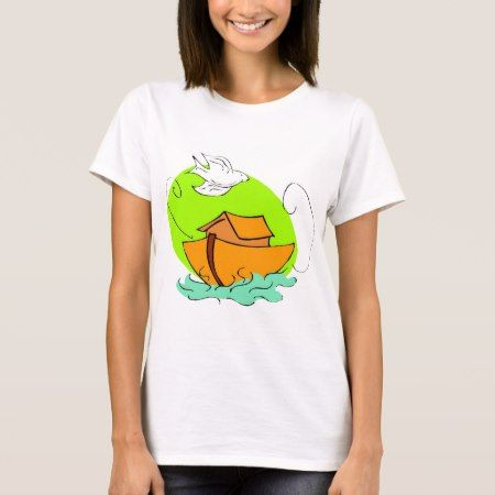 Noah's ark Christian artwork_5 T-Shirt - click/tap to personalize and buy