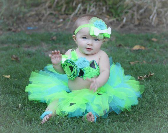 Adorable Pebbles Tutu Baby Costume Tutu Set 3 by AverysCoutureLook