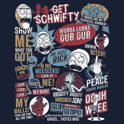 A new #cool #tshirt for you. Find it at #UmamiTees : www.umamitees.com #RickAndMorty #CatchPhrases #Rick #Morty #CatchPhrase #TVShow #TV #Cartoon #Cartoons #tshirts #Apparel #Repost