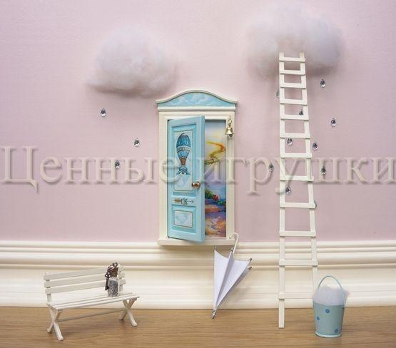 Miniature Fantasy Fairy Door.