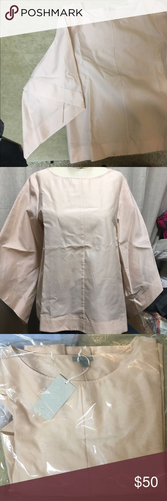 COS top with draped sleeves COS - brand new COS Tops Blouses