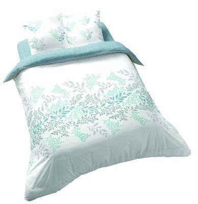 Спално бельо от памучен сатен Виктория Бяла