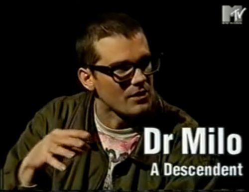 Milo, Descendents and people say you can't like punk and be smart ftw