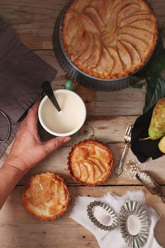 Tarta de pera y arroz - Megasilvita