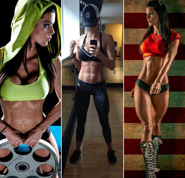 Lindsey Renee -diet and exercise routine from simply shredded #fitspo