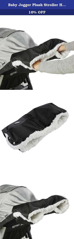 Baby Jogger Plush Stroller Hand Muff - Black Stroller Accessory. Baby Jogger Plush Stroller Hand Muff - Black Stroller Accessory.
