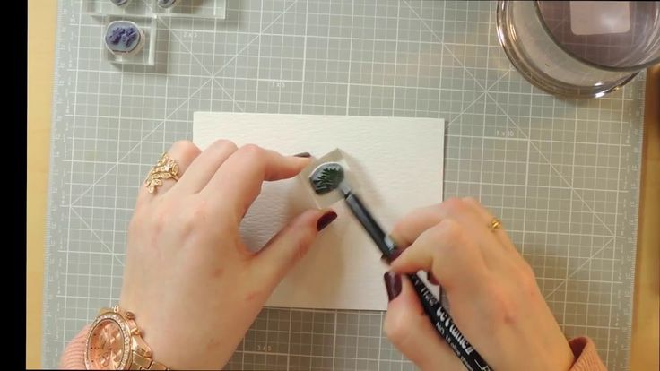 Watercolor the Art Impressions Way Art Impressions Rubber Stamps: Ai Wonderful Watercolor. ...basics tutorial **Supplies** www.ArtImpressions.com **Flower Stamp Set- http://artimpressions.com/Product.asp?Sku=4052 **F...