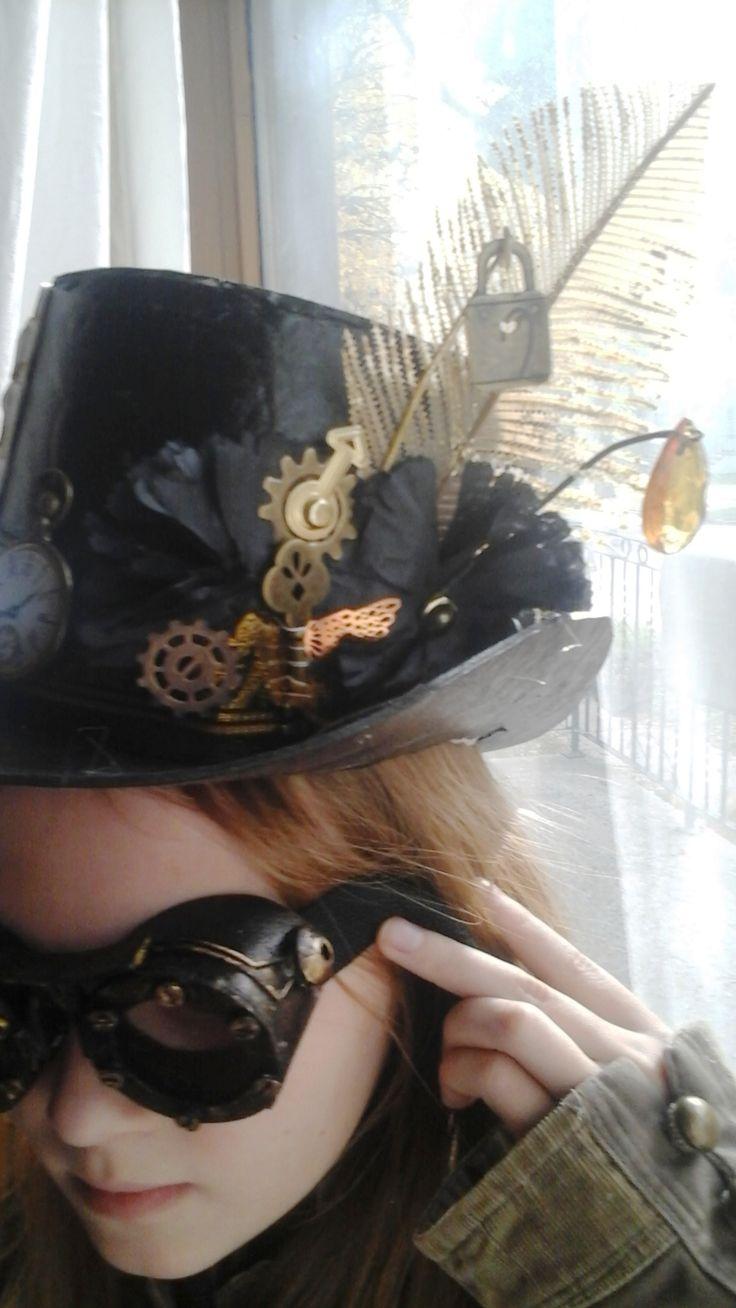 lamp lighter top hat