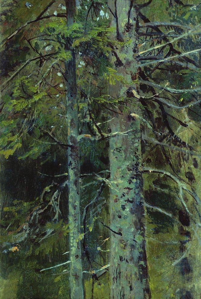 Ivan Shishkin Forest -