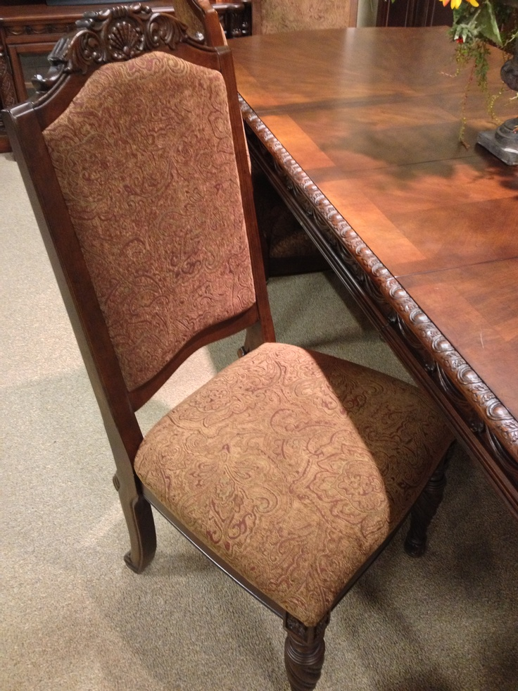 North Shore Dining Chair At Ashley Furniture In Tricities Old World Pinterest