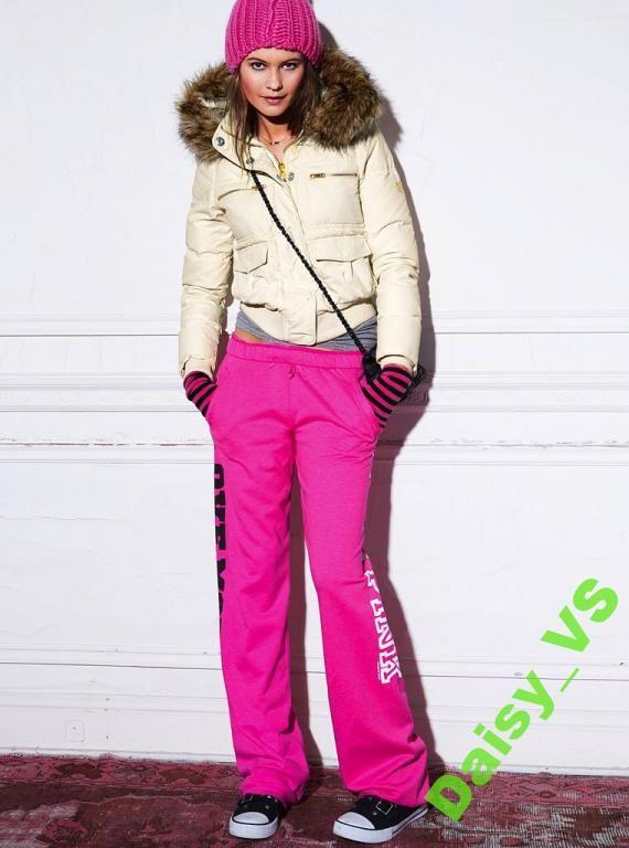 Kurtka puchowa Victoria's secret pink roz S