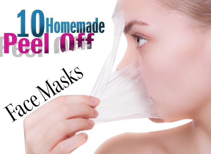 Learn how to make homemade peel off face masks.