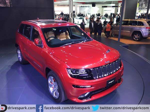 Auto Expo 2016: Jeep Thunders Into India Astride The Grand Cherokee SRT   #AutoExpo2016 #Jeep #GrandCherokee
