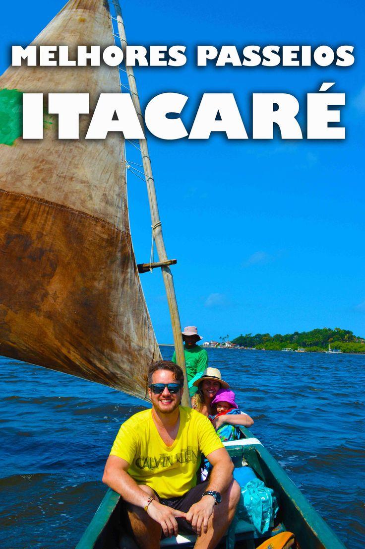 Rafting, passeio de canoa, cachoeira, arvorismo e praias. Conheça os melhores passeio de Itacaré.