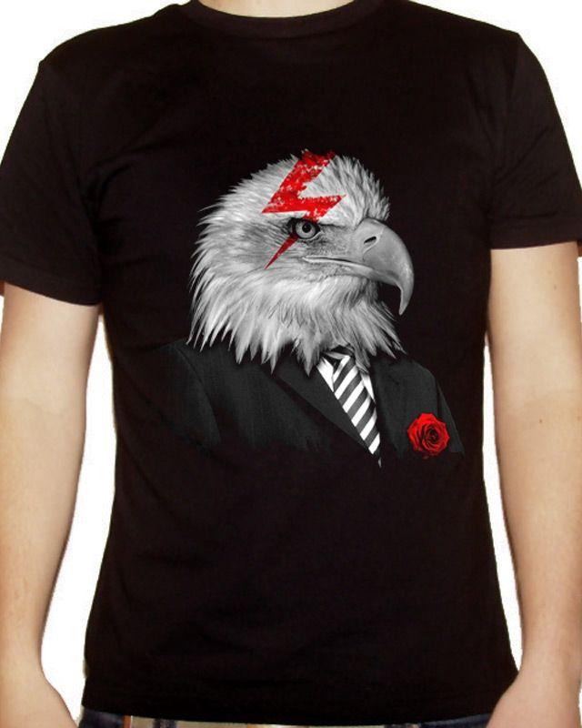 Daily Tee: Mr Thunderbird custom t-shirt design by zenstudio