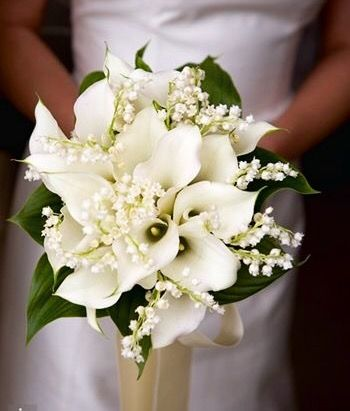 Gorgeous white bouquet