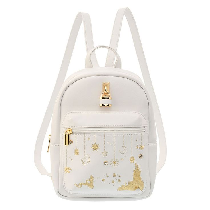 """Fashion Garland"" Rapunzel Backpack - Disney Store Japan"