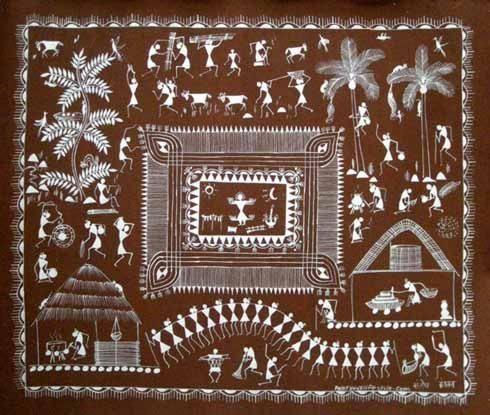 Ancient Indian Folk Art Tradition of Warli 1