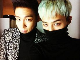 T.O.P and G-Dragon #BigBang