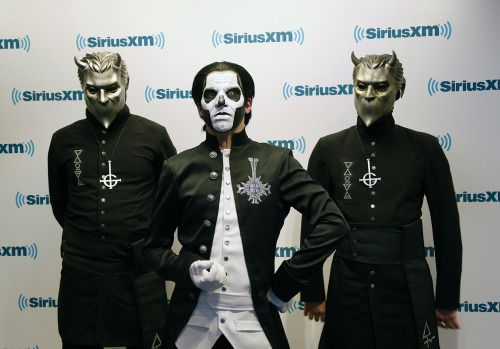 siriusxm:  The band Ghost.